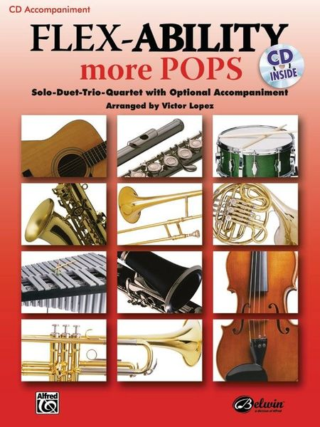 Alfred Music Publishing Flex-Ability More Pops CD