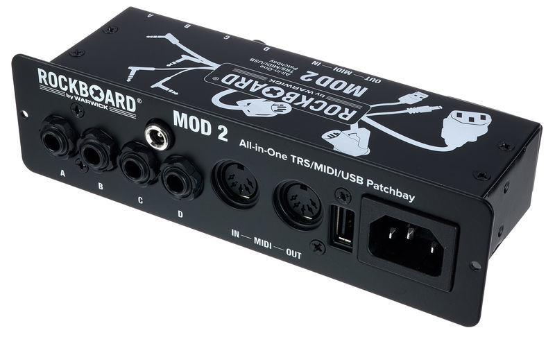 Rockboard MOD 2 V2 Midi & USB Patchbay