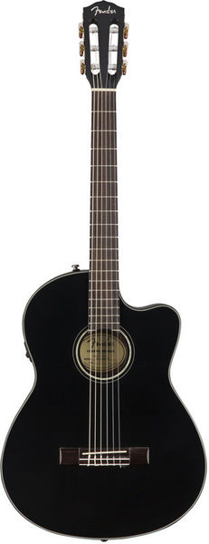 Fender CN-140SCE Thinline Black