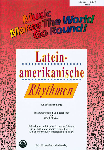 Siebenhüner Musikverlag Lateinamerikanisch Vol.1 Flute