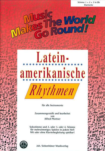 Siebenhüner Musikverlag Lateinamerikanisch Vol.1 Clari