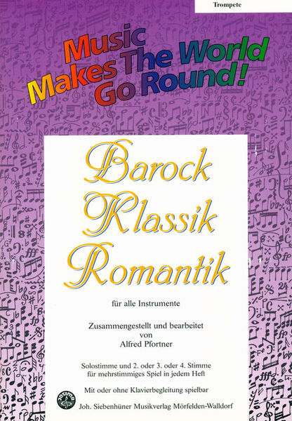 Siebenhüner Musikverlag Barock/Klassik/Romantik Trumpe