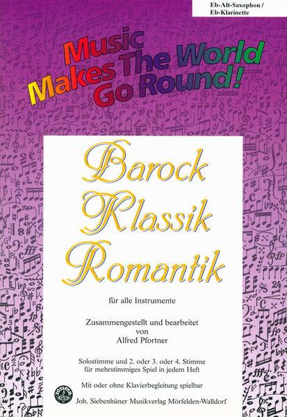 Siebenhüner Musikverlag Barock/Klassik/Romantik A-Sax