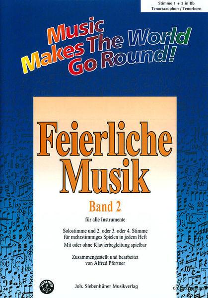 Siebenhüner Musikverlag Feierliche Musik Vol.2 T-Sax