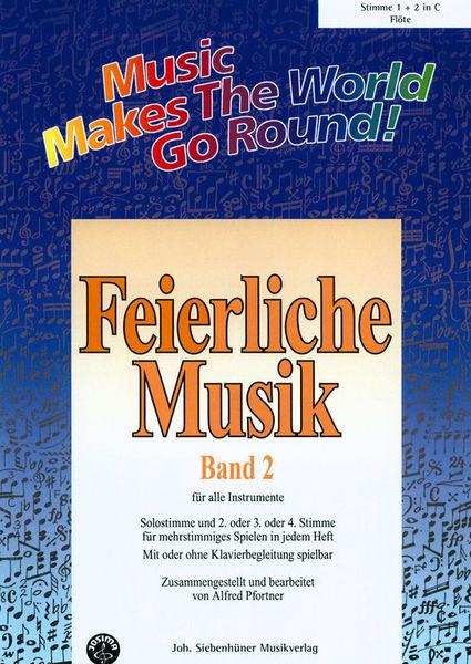 Siebenhüner Musikverlag Feierliche Musik Vol.2 Flute