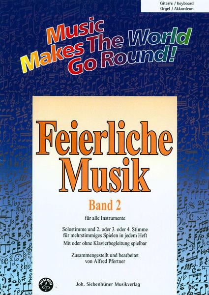 Siebenhüner Musikverlag Feierliche Musik Vol.2 Guitar