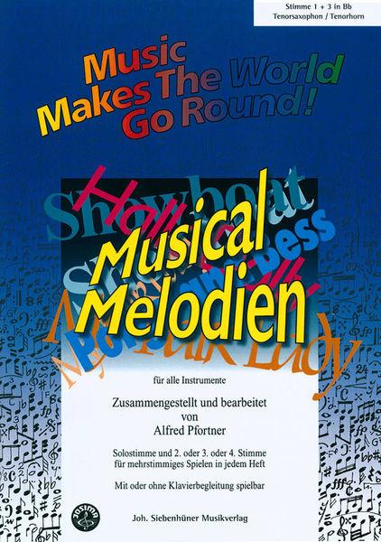 Siebenhüner Musikverlag Musical Melodien T-Sax