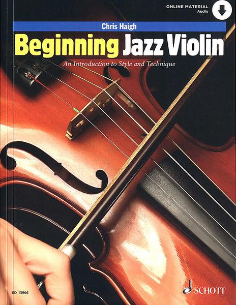 Schott Beginning Jazz Violin
