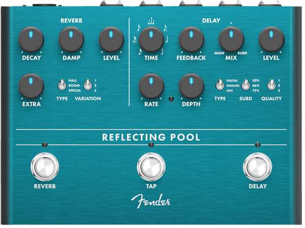 Reflecting Pool Delay Reverb Fender