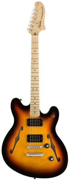 Fender SQ Affinity Starcaster MN 3-SB