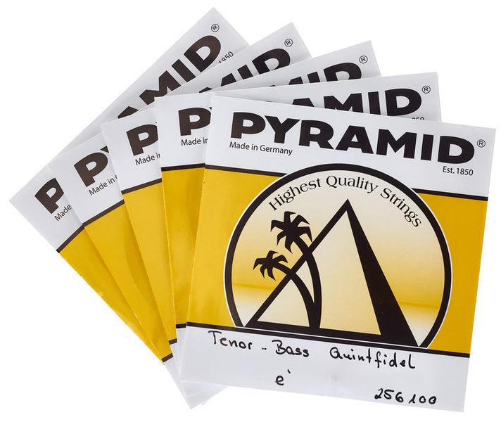 Pyramid Tenor-Bass Quintfidel Strings