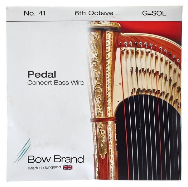 Bow Brand Pedal Wire 6th G String No.41