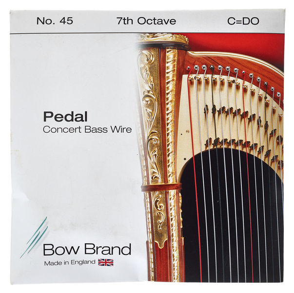 Bow Brand Pedal Wire 7th C String No.45