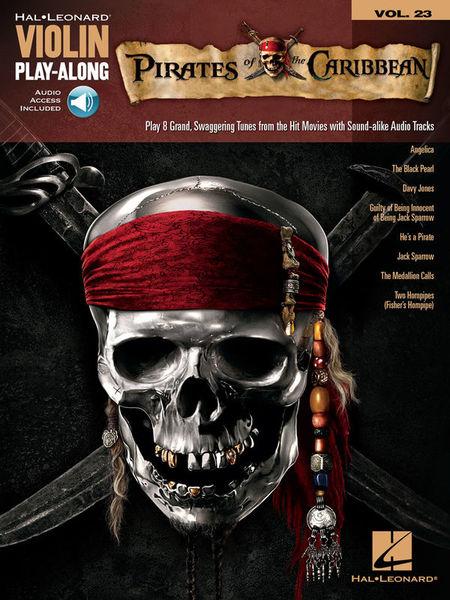 Hal Leonard Violin Play-Along Pirates