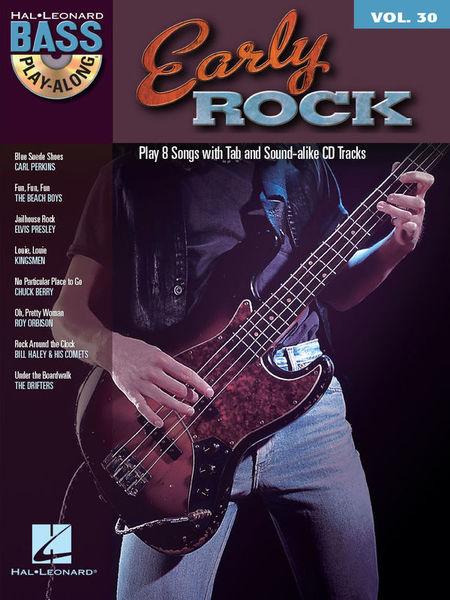 Hal Leonard Bass Play-Along Early Rock