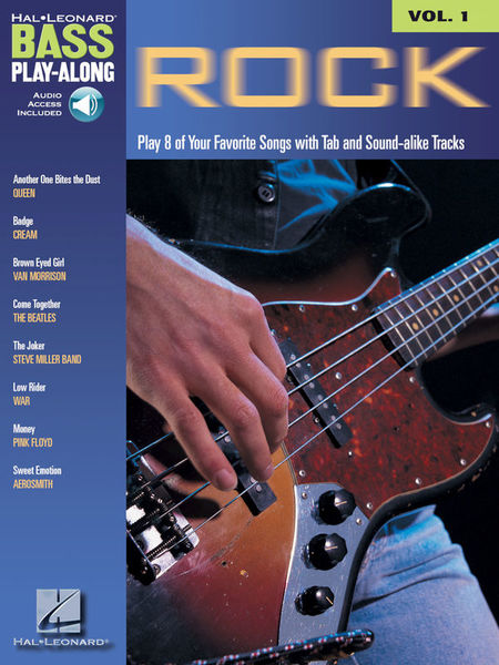 Hal Leonard Bass Play-Along Rock