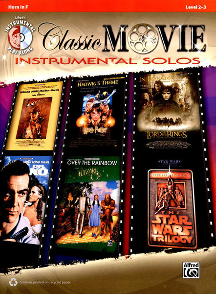 Alfred Music Publishing Classic Movie Instr. Horn in F