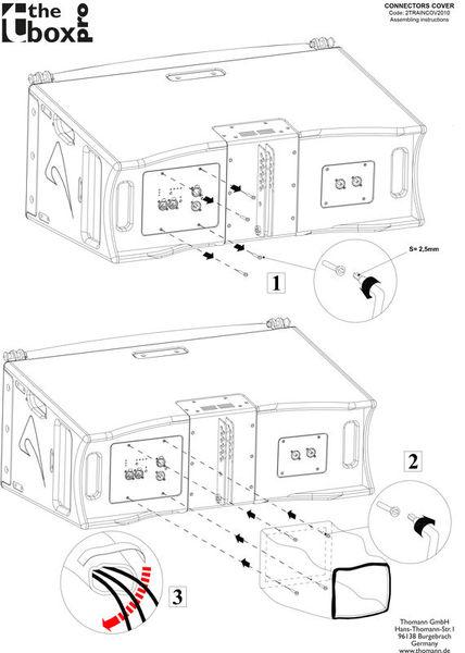the box pro Rain Cover A 8/10 LA Module