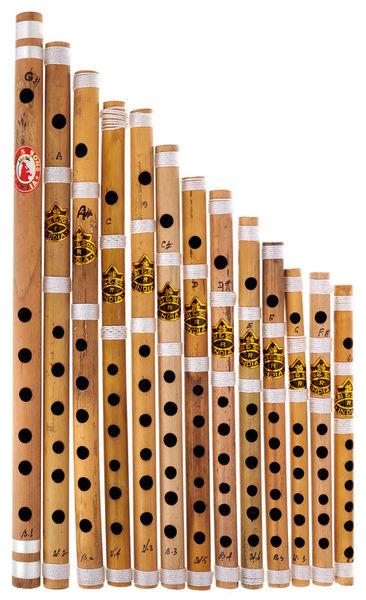 Thomann Nataraj 13 Bansuri Flutes SiBl