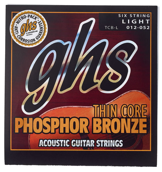 GHS TCB-L Phosphor Bronze Light