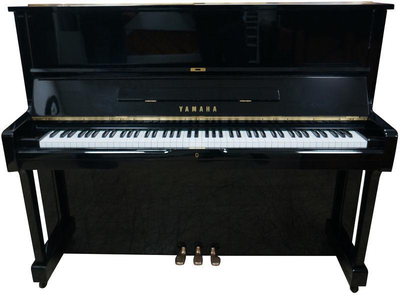 Yamaha U1H Piano used, Black Polished