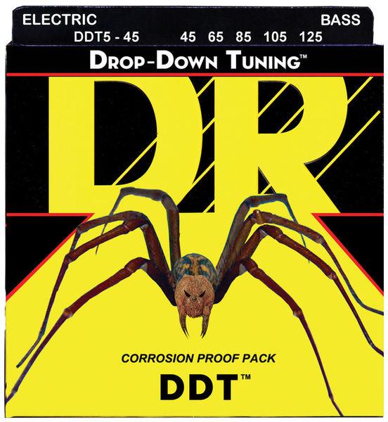 DR B DROP DDT5-45 DR Strings