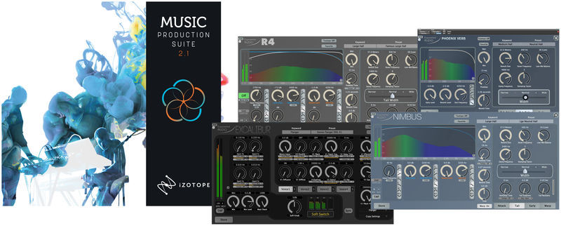 iZotope MPS 2.1 + Stereo Reverb Bundle