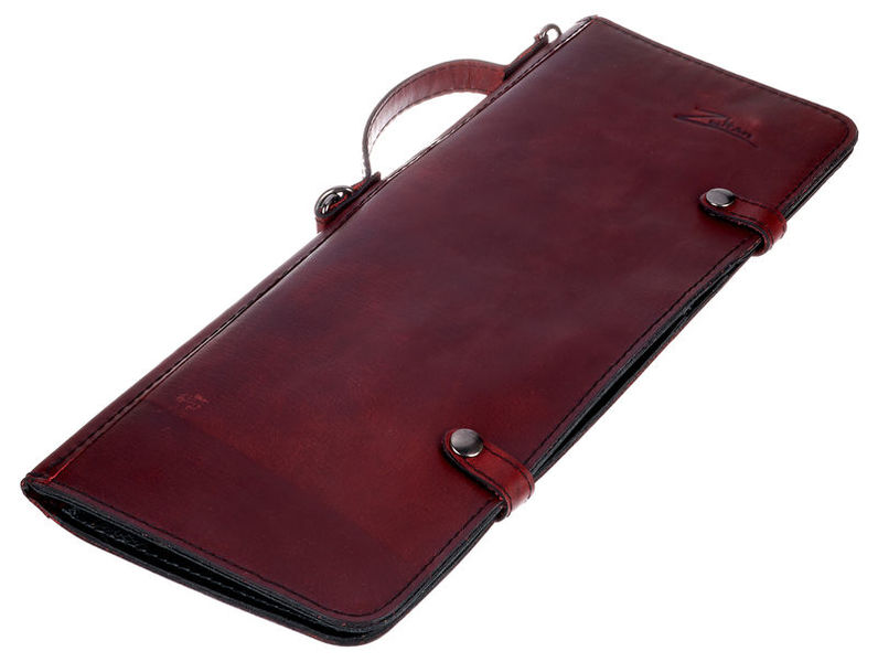 Zultan Leather Stick Bag Red