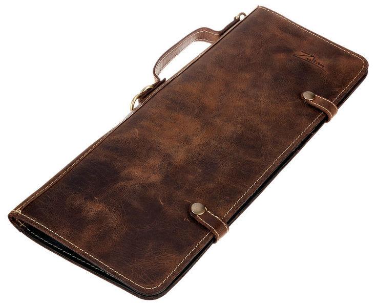 Zultan Leather Stick Bag Vintage