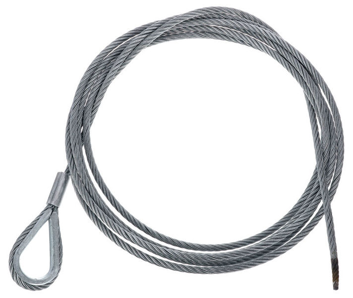 Stairville Steelwire Safety 400cm/6mm
