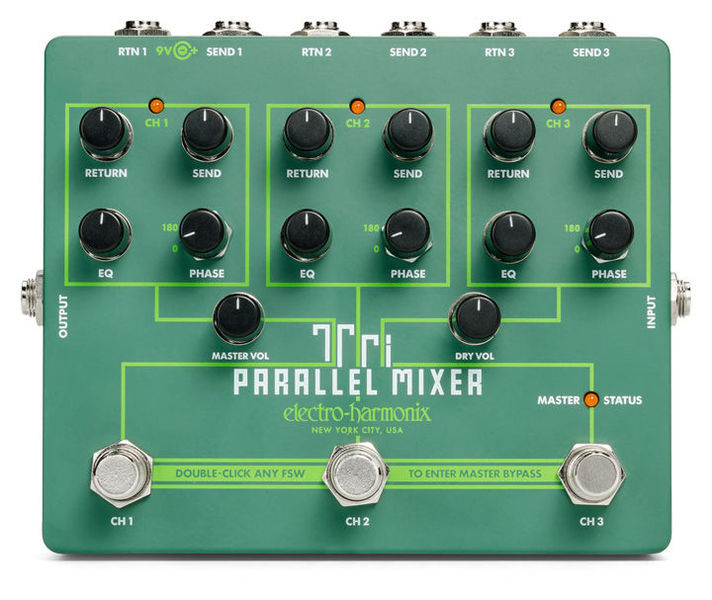 Tri Parallel Mixer Electro Harmonix