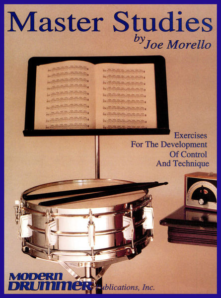 Hal Leonard Joe Morello Master Studies