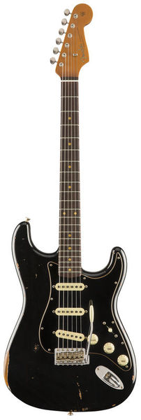 Fender Roasted Poblano Strat BLK Ltd