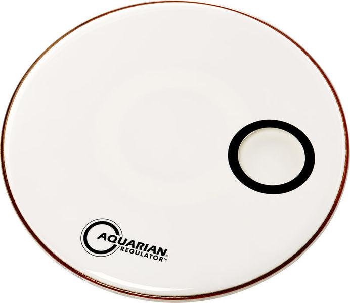 """Aquarian 20"""" Regulator White Bass Drum"""