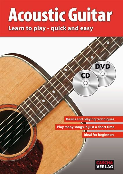 Cascha Verlag Acoustic Guitar Learn To Play