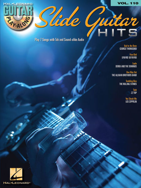 Hal Leonard Guitar Play-Along Slide Guitar