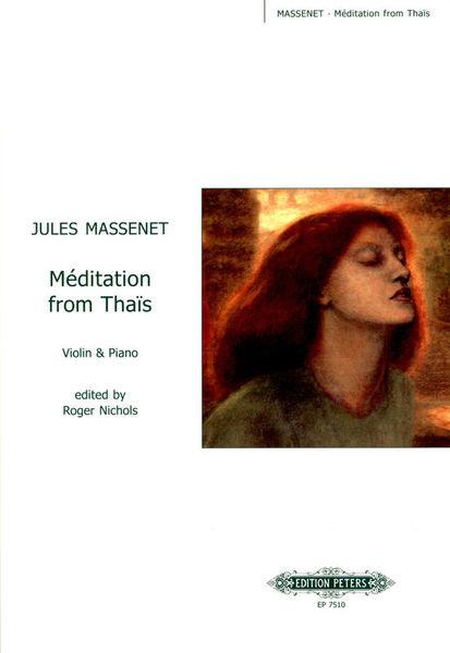 Edition Peters Massenet Méditation D-Dur VL