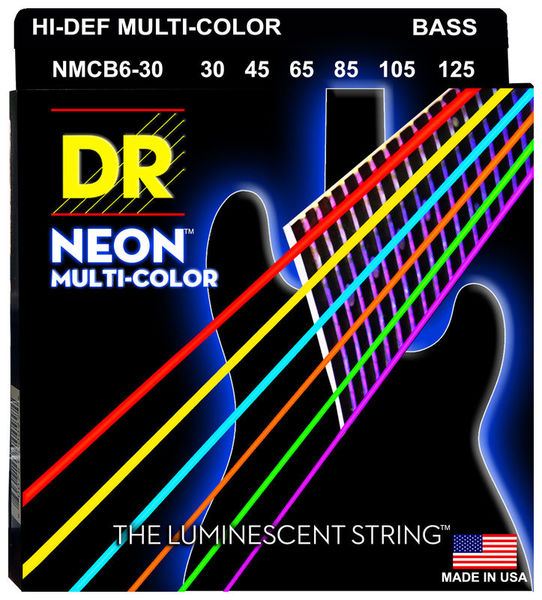 DR Neon Hi-Def Multi-Color DR Strings