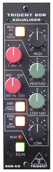 Trident Audio 80B-500 EQ