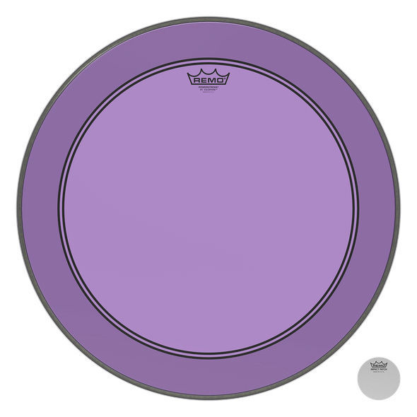 "Remo 22"" P3 Colortone Batter Purple"