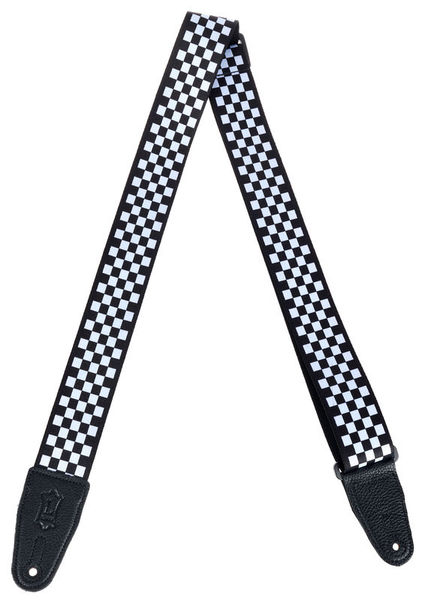 """Levys Poly Strap 2"""" Checkerboard"""