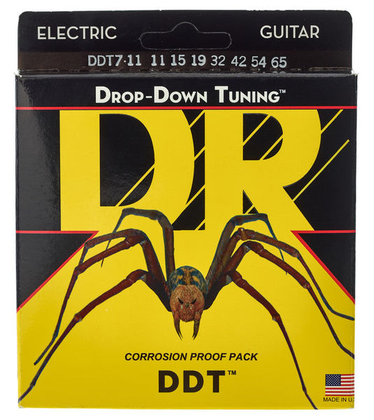 DR Strings DR Drop-Down Tuning - DDT7-11