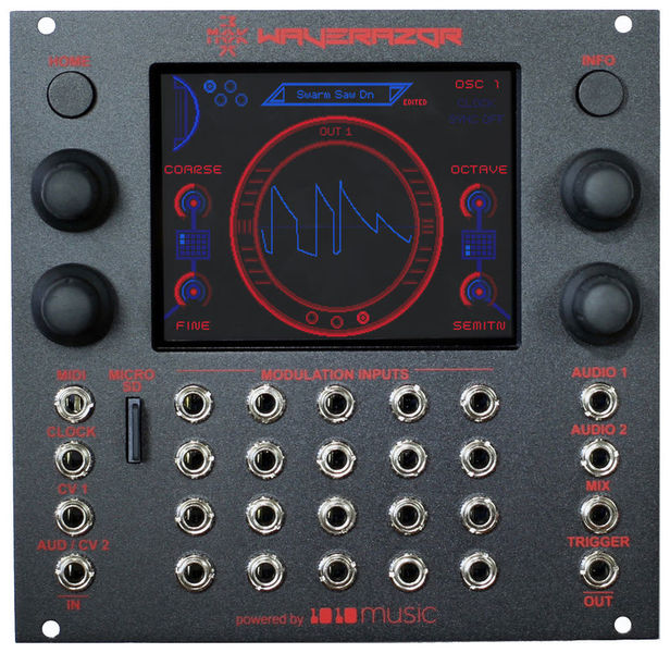 Waverazor Dual Oscillator 1010music