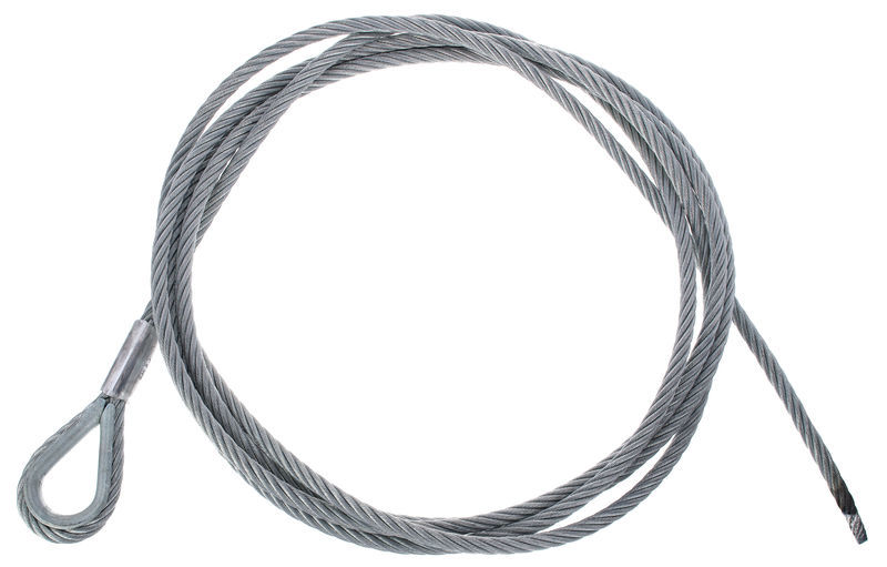 Stairville Steelwire Safety 400cm/8mm