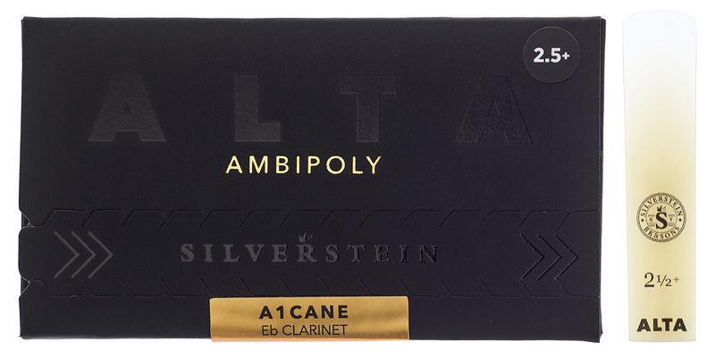 Silverstein Ambipoly Eb-Clarinet 2.5+
