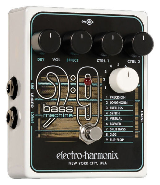 BASS9 Bass Machine Electro Harmonix