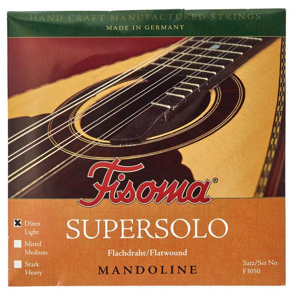 Fisoma F3050D Flatwound Mandolin Str.