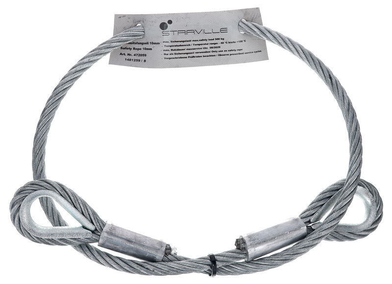 Stairville Rigging Steel 10mm 1,0m