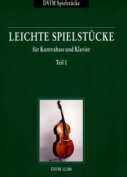 Deutscher Verlag für Musik Leichte Spielstücke 1 Kontrab.