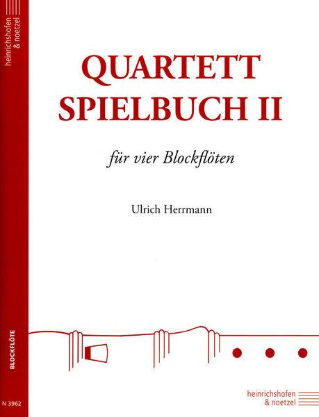 Heinrichshofen's Verlag Quartett-Spielbuch Blockflöte2